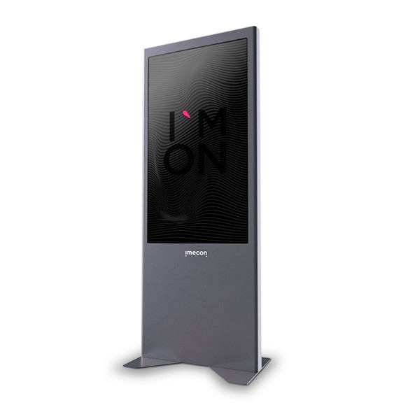 Retail Display lcd HB Front Window- 75 portrait Imecon